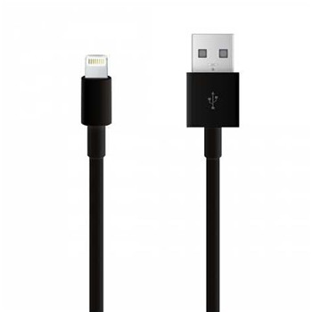 iPhone 5/5C/5S et iPad Air et Mini - Cavo USB lithning - nero