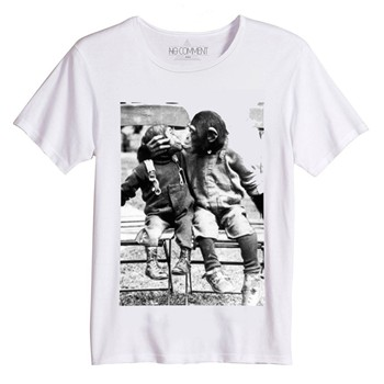No Comment Paris - T-shirt - blanc - 1446782
