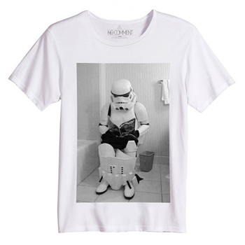 No Comment Paris - Star Wars Trooper - T-shirt - blanc - 1447736
