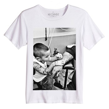No Comment Paris - Rock Kid - T-shirt - blanc - 1447738