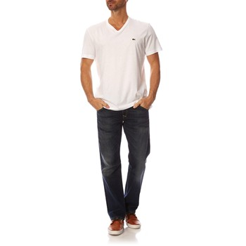 Lacoste - TH2036 - T-shirt manches courtes - blanc