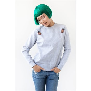 Ultra tee - Sweat-shirt en coton Coccinelles - chiné gris