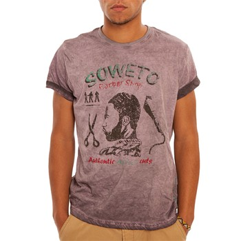 Barber - T-shirt manches courtes - rose