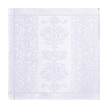 Siena - Serviette de table - en coton blanc