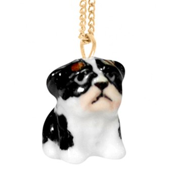 Bulldog Français - Mini Collier - bicolore