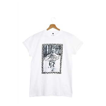 Smiling Paris - T-shirt manches courtes - blanc