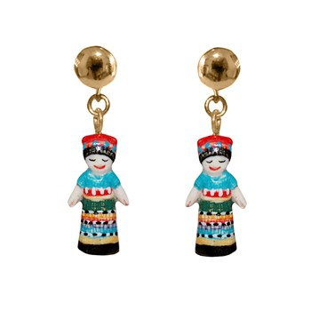 Nach - Worry Doll - Boucles d'oreilles - multicolore