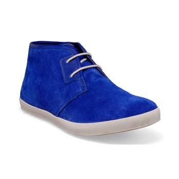 Faldo - Bottines en cuir - bleu