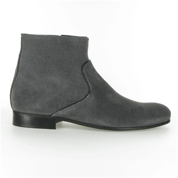 Greg - Bottines en cuir - gris