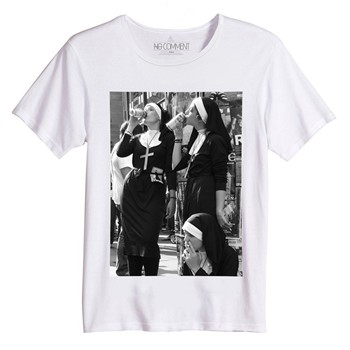 No Comment Paris - T-shirt - blanc - 1446808