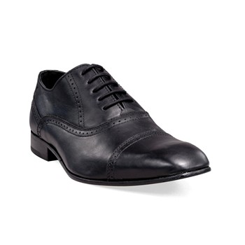Studio - Derbies - en cuir noir