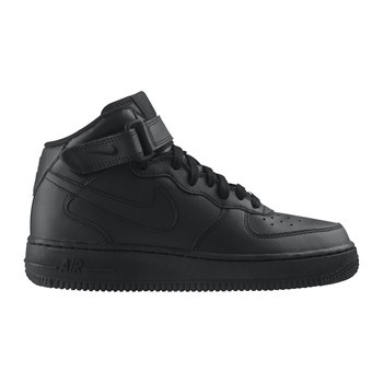 Air Force 1 Mid (GS) - Baskets - noir