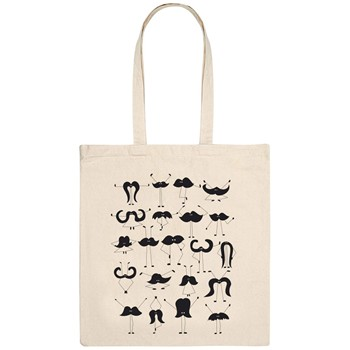 Monsieur Poulet - Moustache group - Tote Bag - naturel - 1588117