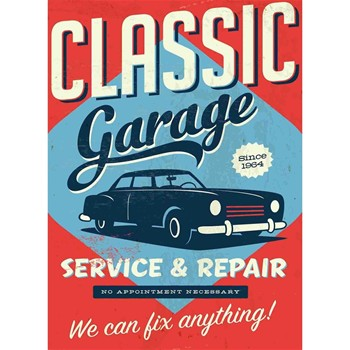 Garage 1964 - Affiche - multicolore