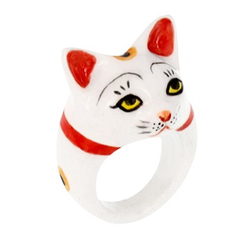 Chat Chanceaux - Bague - multicolore