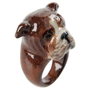 Nach - William - Bague - marron