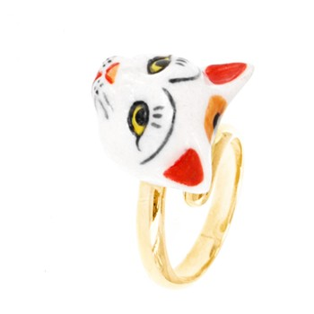 Bague ajustable - multicolore