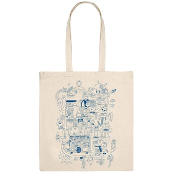 Monsieur Poulet - Hé Ho - Tote Bag - naturel - 1604291