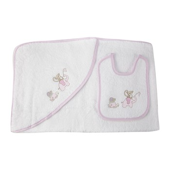 Set Eponge Gamme Savanne - rose