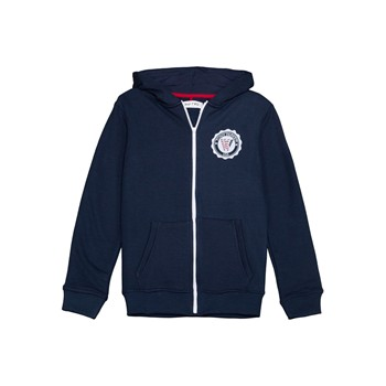 Wap Two - Badge - Sweat à capuche - bleu marine - 1606285