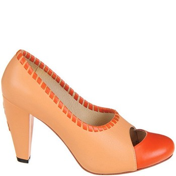 Fame - Escarpins en cuir - orange