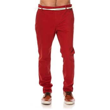 Eleven Paris - Charlie - Pantalon chino - rouge