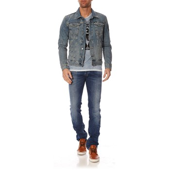 William Bleached Lesson - Blouson - bleu