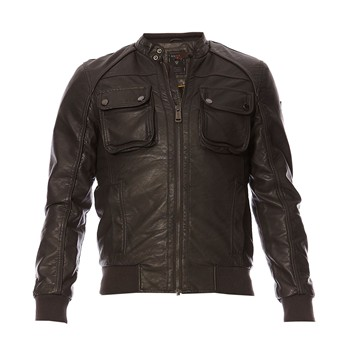 Guess - Bomber Cracked - Blouson - gris - 1600390