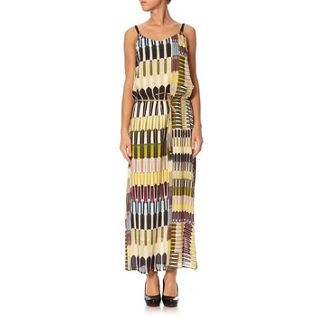 Robe longue - multicolore