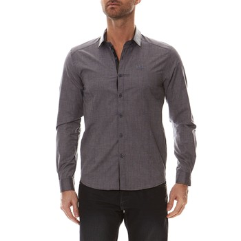Nuhan - Chemise manches longues - anthracite