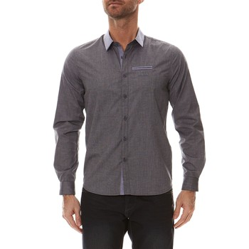 Numesys - Chemise manches longues - anthracite