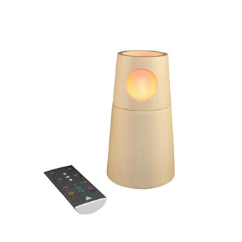 Artwood Creations - MuSyca Lighthouse - Veilleuse design en bois connecté Bluetooth - 1644438