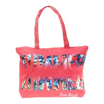 Shopping bag - corallo