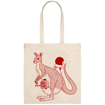 Monsieur Poulet - Kangaloo - Tote Bag - naturel - 1655735