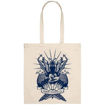 Monsieur Poulet - Paris-çi les clichés - Tote Bag - naturel - 1655742