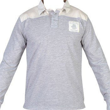 Oztyle - Héritage - Polo manches longues - gris
