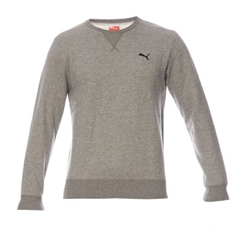 Puma - Ess crew - Sweat-shirt - gris chine - 1584209