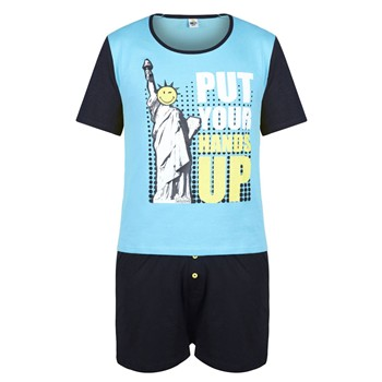 Pomm'Poire - Hands Up - Pyjama - bleu - 1670454