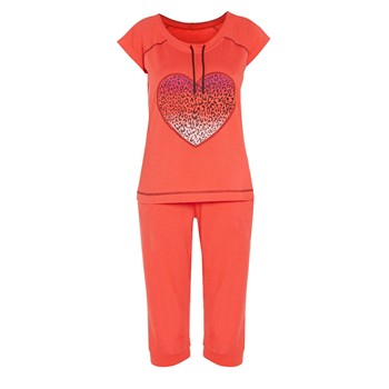 Street - Ensemble t-shirt et pantalon - orange
