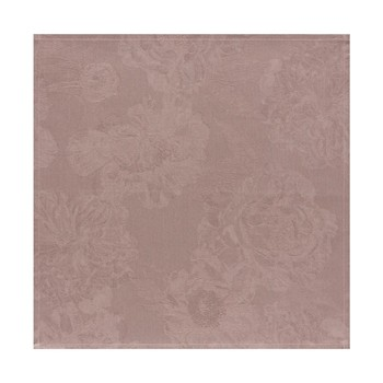 Pivoine - Serviette - marron