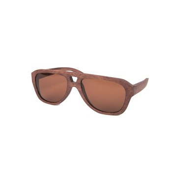 Waiting For The Sun - Copilote - Lunettes de soleil en bois - marron - 1695310