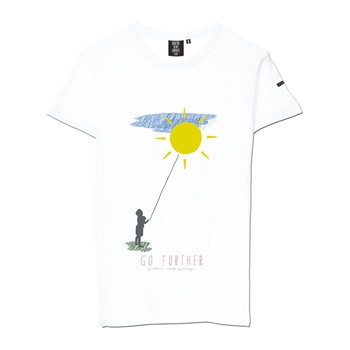 Quatre Cent Quinze - Go Further - T-shirt - blanc - 1705497