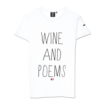 Quatre Cent Quinze - Wine and Poems - T-shirt - blanc - 1705504