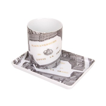 Site Corot - Place Vendome - Combo Porcelaine de Limoges - blanc - 1718960