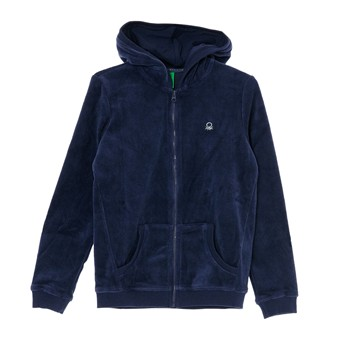 Benetton - Cardigan - blu scuro