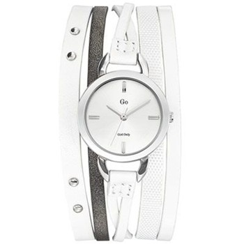 Go Girl Only - Montre en cuir - blanc