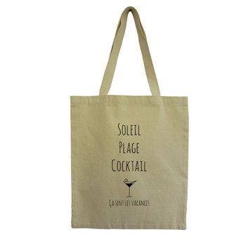 Cocktail - Tote Bag - ecru