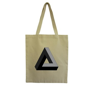 Triangle - Tote Bag - ecru