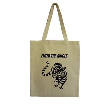 Tiger - Tote Bag - ecru