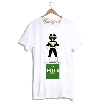 Kingies - BIOMAN - T-shirt - blanc - 1742228